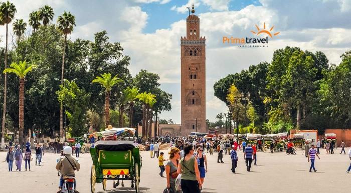 Orientálne vôňe, zaklínači hadov, korenisté jedlá... Maroko je fascinujúca krajina plná ľudí a zvykov pre nás nepoznaných. Vyberte sa spoznávať jeho hlavné mesto Marrakéš a objavte marocké čaro.