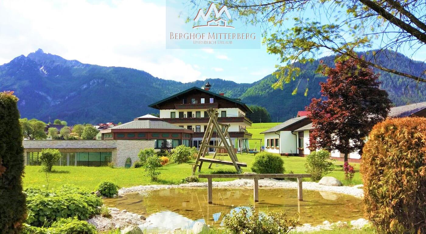 Rakúske Alpy s pohodovým ubytovaním v Hoteli Berghof Mitterberg pre dvoch aj s raňajkami a neobmedzeným wellness