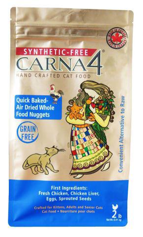 Krmivo pre mačky Carna4 s kuracím mäsom 0,91 kg