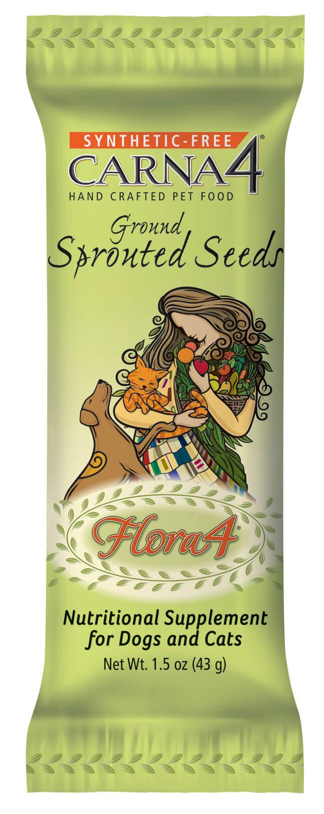 Naklíčené semená Carna4 Flora4 43 g