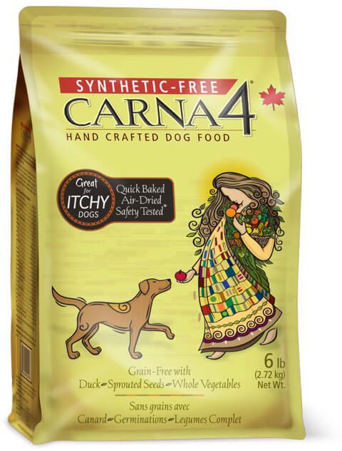 Krmivo pre psy s kačacím mäsom CARNA4 1,36 kg
