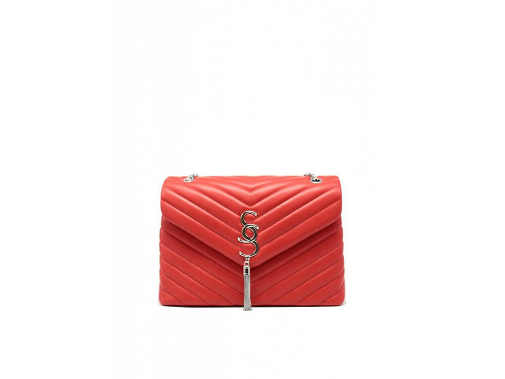 Dámska kabelka Tom & Eva Saint - červená