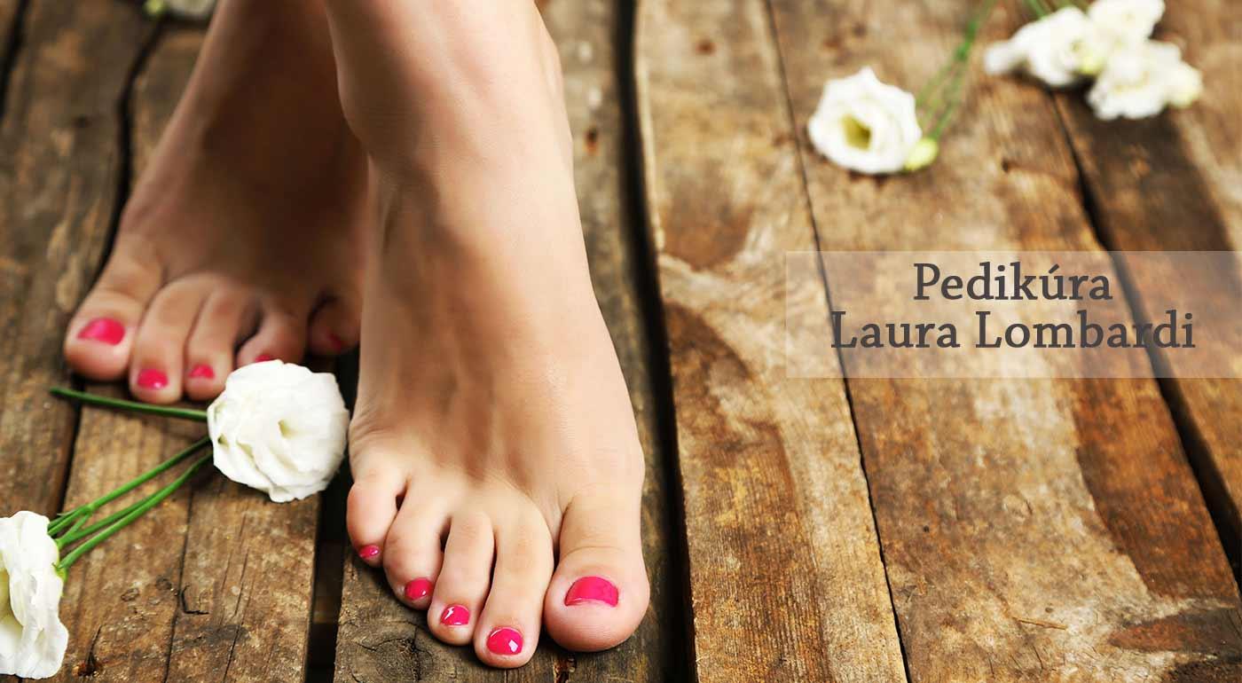 Wellness pre vaše chodidlá - profesionálna pedikúra v salóne Laura Lombardi v Petržalke