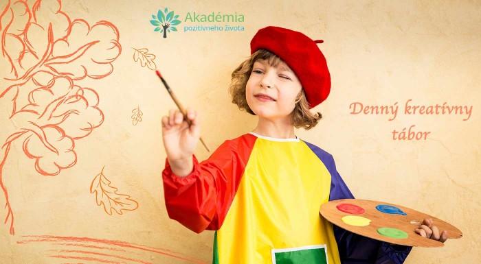 Máte doma deti, čo neustále kreslia, tvoria a vymýšľajú nové veci? Na kreatívnom dennom tábore to budú milovať! Vyrobia si vlastné tričká, mandaly a budú aj maľovať na platno. Super plán na prázdniny!