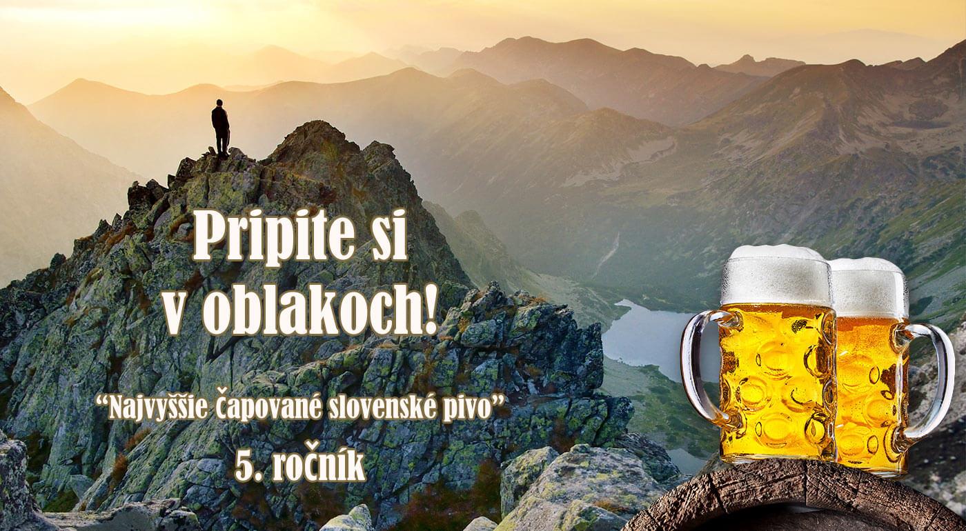 Pivo na Východnej Vysokej - pripite si s nami a zároveň prispejte na dobrú vec v našich Tatrách