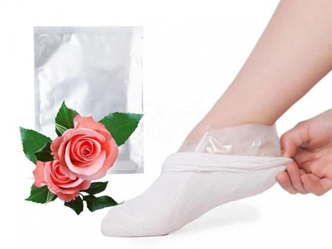Exfoliačné ponožky (1 pár)
