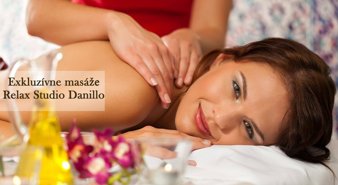 Exkluzívne masáže v Relax Studiu Danillo so zlatým olejom a vyživujúcimi pleťovými maskami