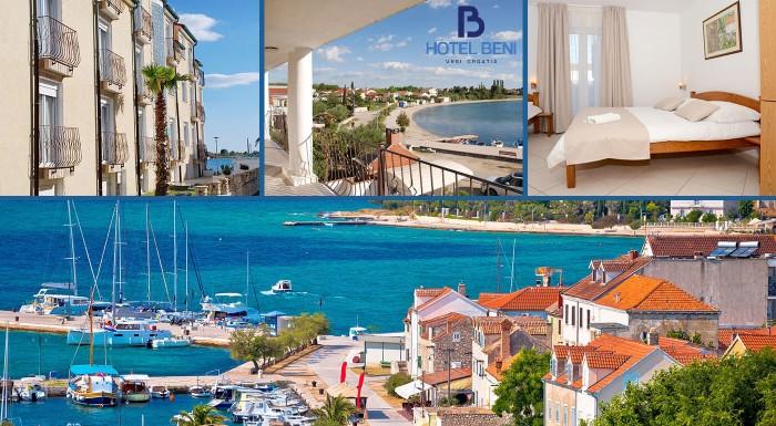 Zažite dovolenku v Chorvátsku bez obáv z jazykovej bariéry! V Hoteli Beni*** máte nielen chutnú polpenziu, pláž minútu od hotela, ale aj česky hovoriaci personál!