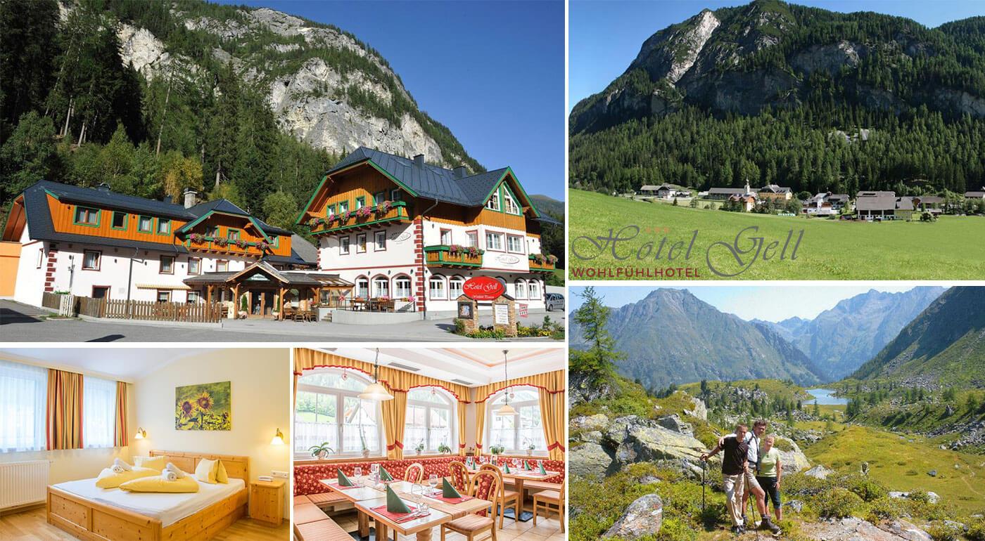 Dovolenka v Alpách pre dvoch aj s all inclusive v Hoteli Gell - stredisko Lungau Rakúsko