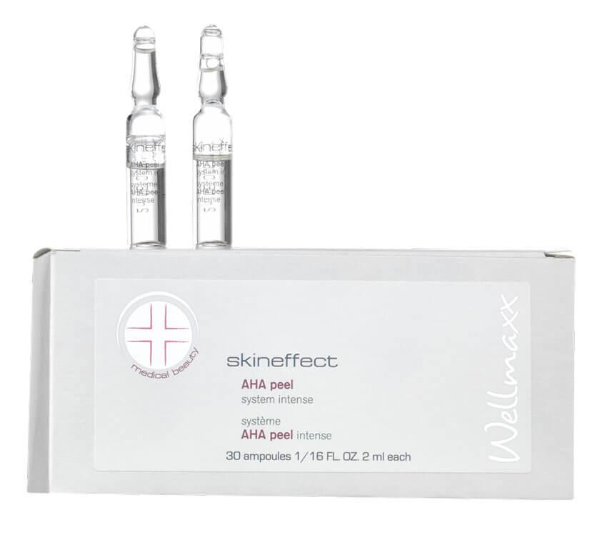 Wellmaxx Skineffect aha peel system ampule 30 ampuliek x 2 ml