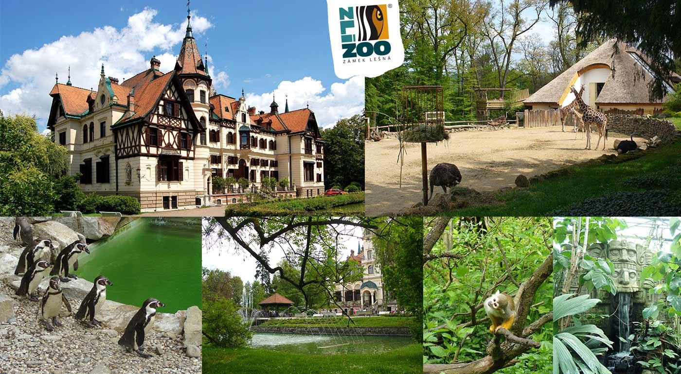 Poznávací zájazd pre celú rodinu do ZOO Zlín s návštevou zámku Lešná