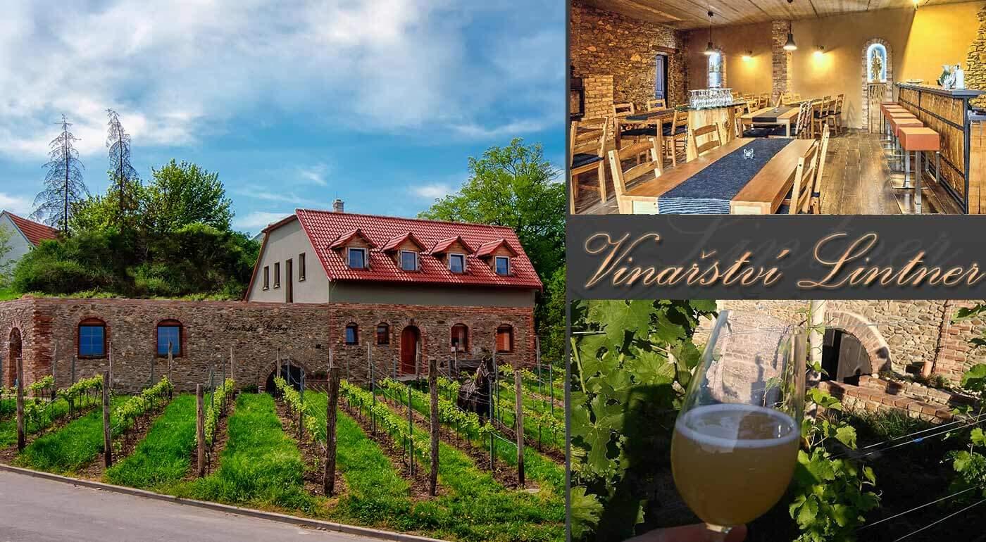 2 alebo 3 dni na Morave s degustáciou vín v historickej pivnici vo Vinárstve Lintner