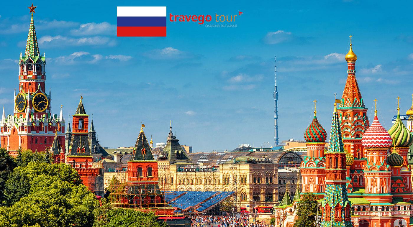 Moskva: predĺžený víkend s návštevou pamiatok najvýznamnejšej metropoly Ruska