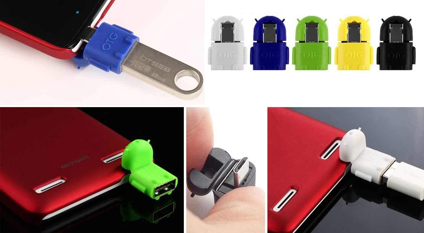Praktický USB OTG adaptér na android - pripojte k svojmu mobilu alebo tabletu USB a získajte tak extra pamäť na hudbu a filmy!
