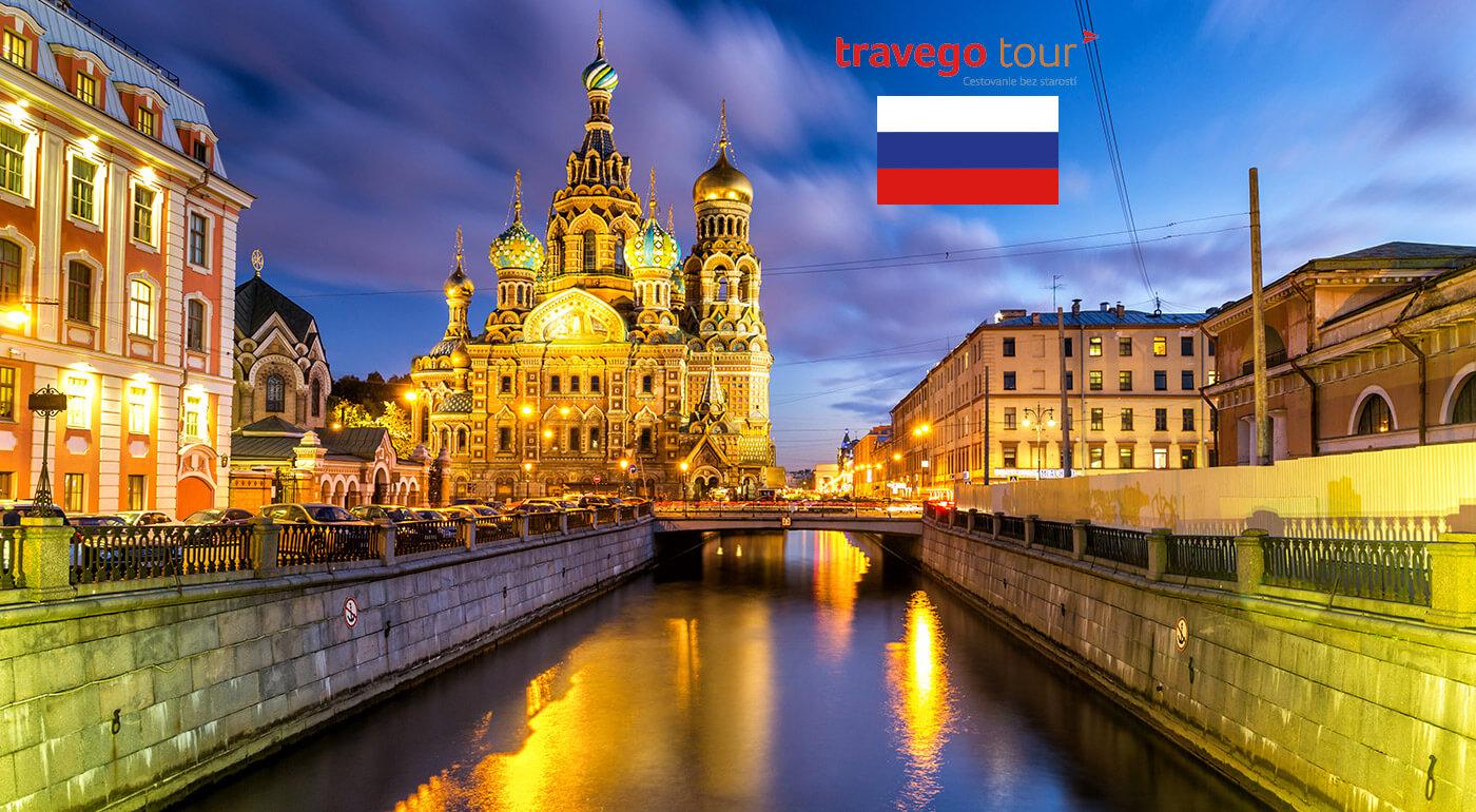 Petrohrad, Rusko: zaujímavý 4-dňový zájazd do kultúrnej metropoly najväčšej krajiny sveta
