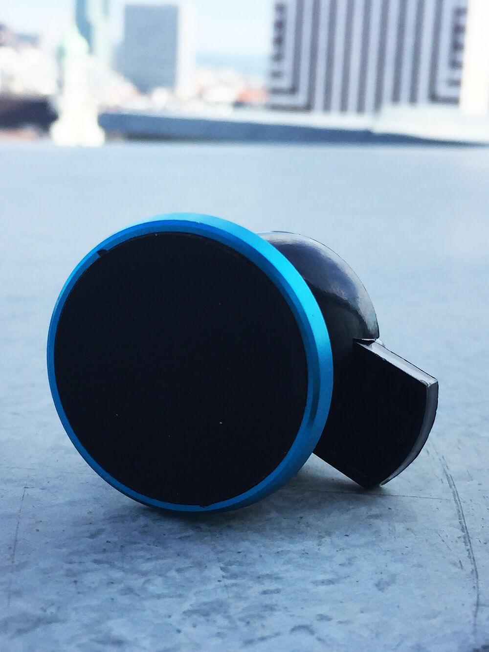 Magnetický držiak na mobil do auta modrý