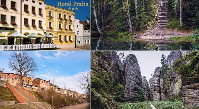 Broumov, Hotel Praha***: pobyt s polpenziou