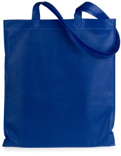 Eko taška z netkaného textilu rozmery 36x40 cm - modrá