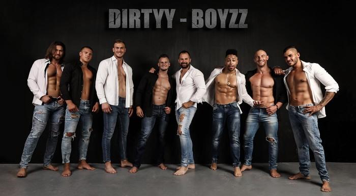LEN PRE ŽENY TOUR 2018 - horúca noc so striptérskou skupinou DIRTYY BOYZZ v 6 slovenských mestách! Šteklivým programom vás prevedie vždy vtipný a pohotový DIEGO 001.