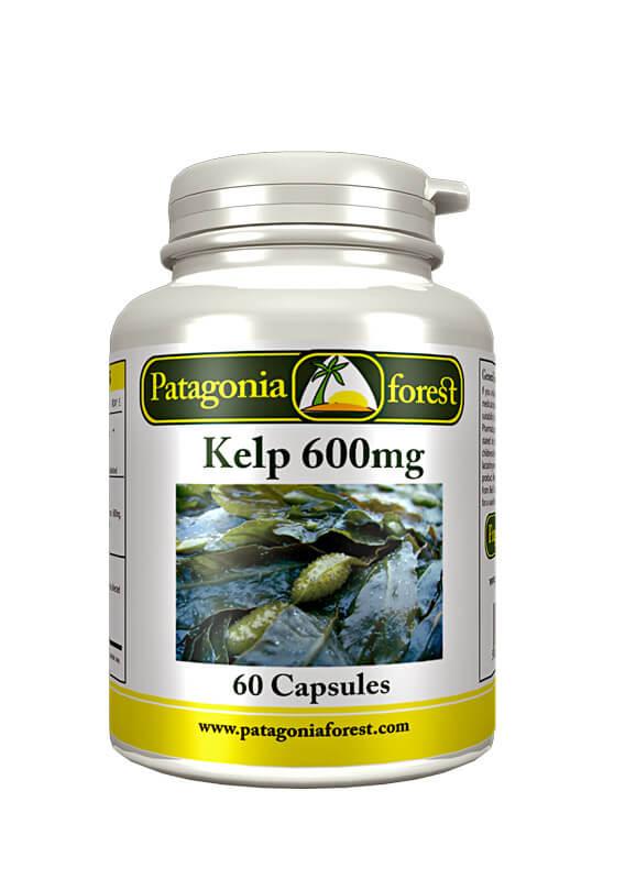 Patagonia Forest: Kelp - prírodný zdroj minerálov (balenie 60 kapsúl)