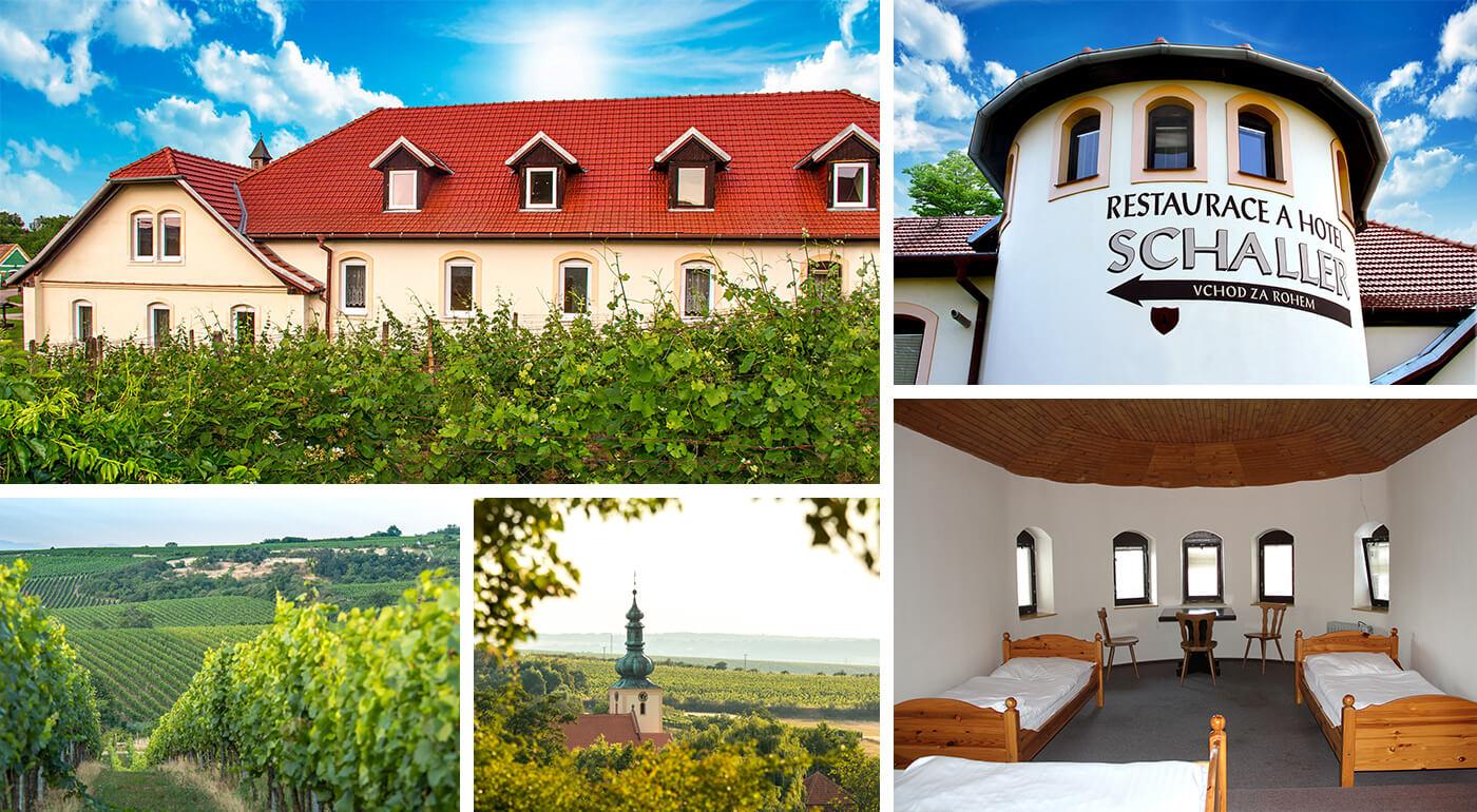 Južná Morava: Oddychový pobyt v Hoteli Schaller neďaleko Znojma s poukazmi do nákupného centra Freeport