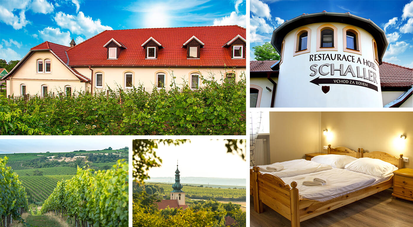 Južná Morava: Oddychový pobyt v Hoteli Schaller neďaleko Znojma s návštevou Louckého kláštora a ochutnávkou vín
