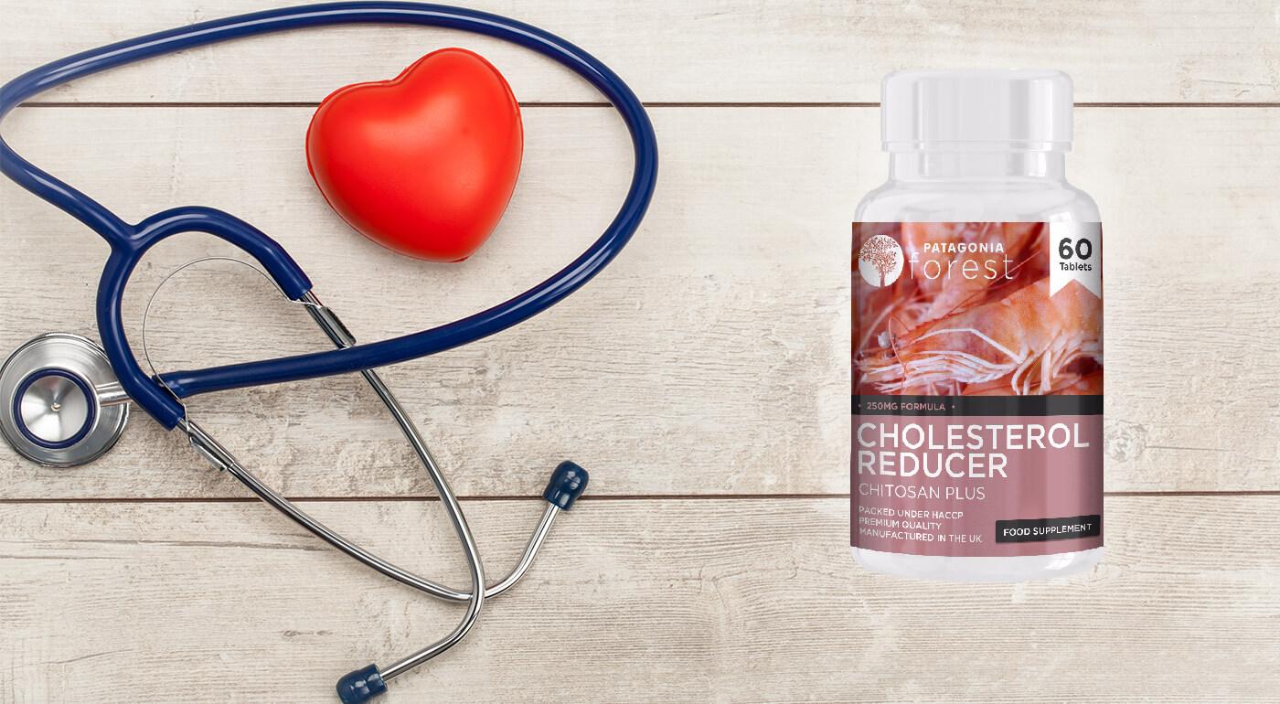 Cholesterol Reducer - prírodný doplnok na úpravu hladiny cholesterolu, telesného tuku a zníženie krvného tlaku
