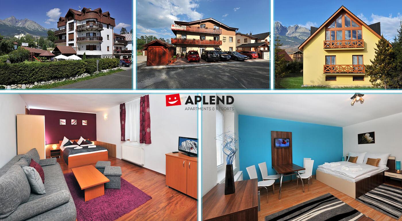 Vysoké Tatry: Jesenná pohoda v apartmánoch a štúdiách Resortu Beatrice v Tatranskej Lomnici pre 2 až 4 osoby