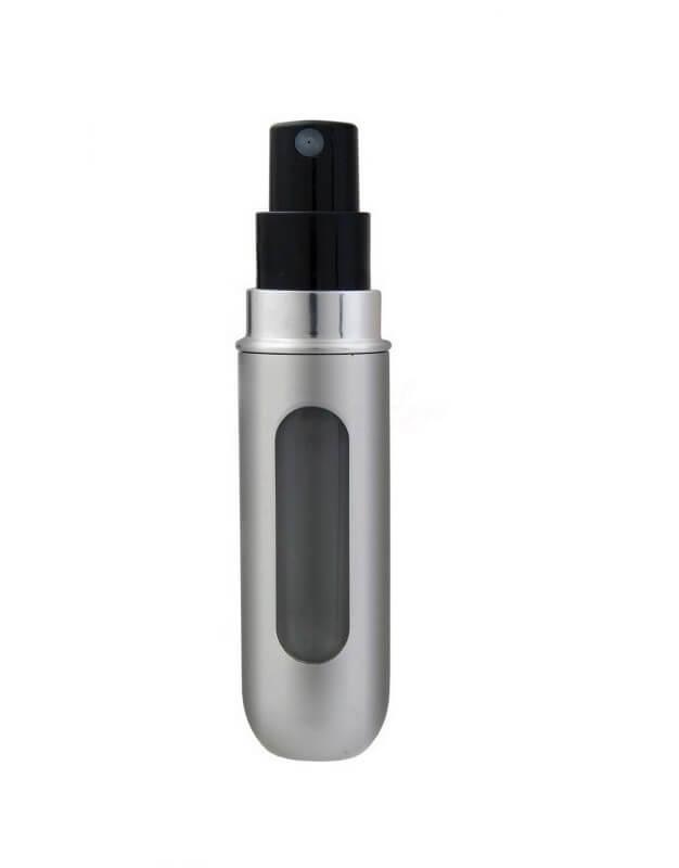 Dávkovač na parfum 5 ml strieborný