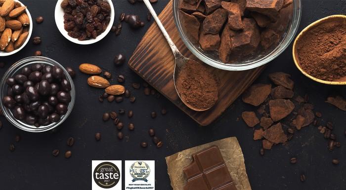 Zdravé sladkosti v raw čokoláde