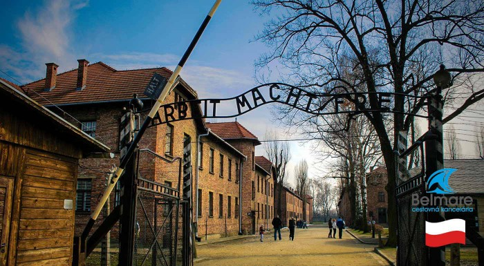 Zľava 21%: Urobte si výlet do Poľska a počas jedného dňa navštívte neslávne známy tábor Osvienčim a Auschwitz-Birkenau. Nie je nad nové zážitky a skúsenosti!