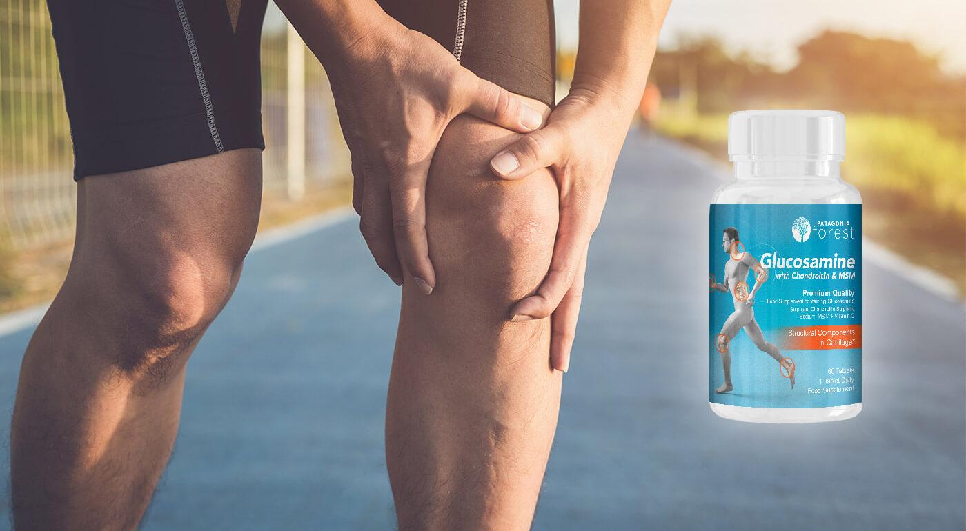 Všetko pre zdravé kĺbky a kosti - výživový doplnok Glukozamín Chondroitín MSM