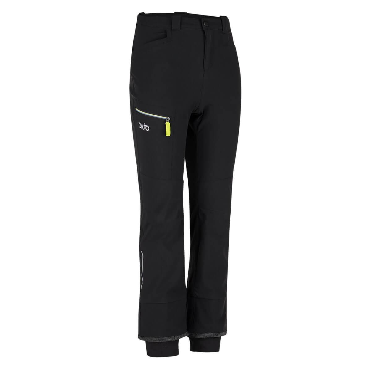 Detské nohavice Argon Kids Pants Black-Teaberry - veľkosť 110 - 116