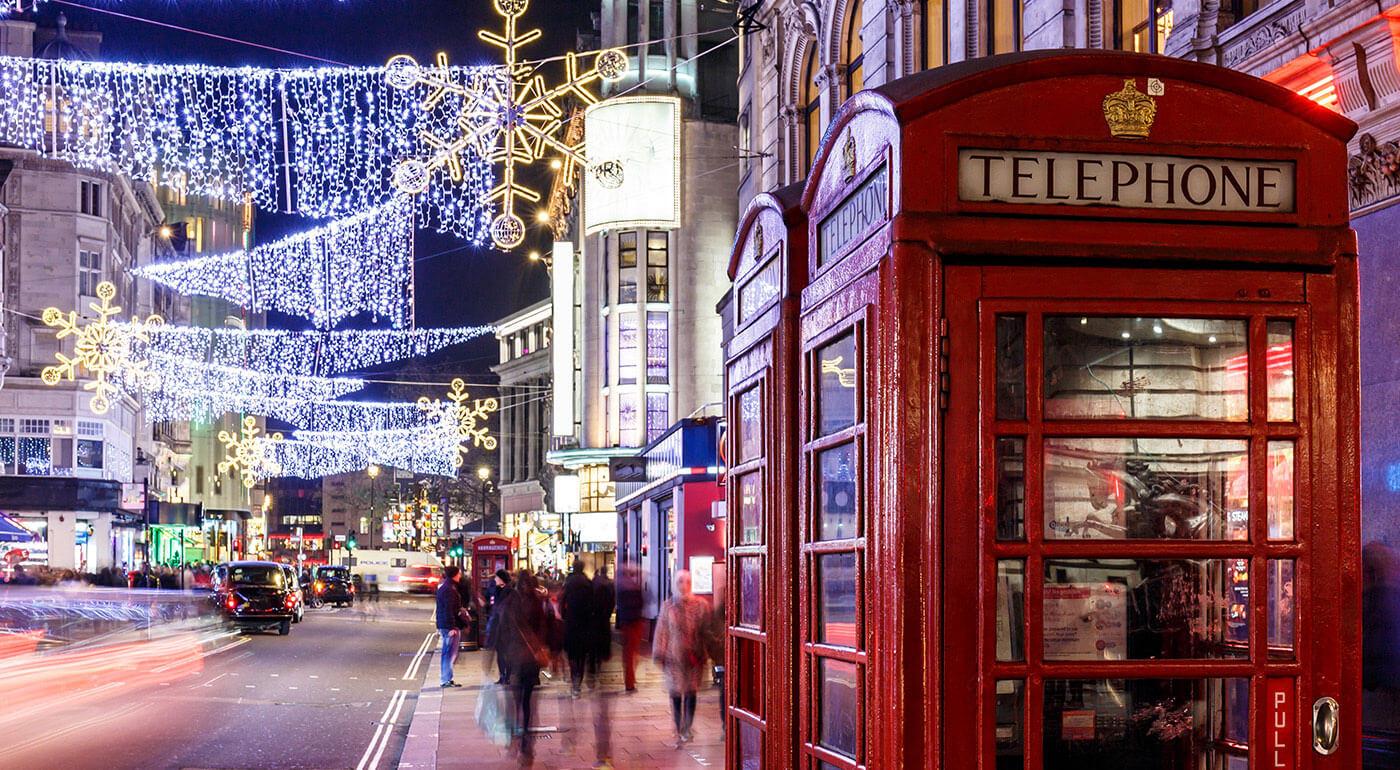Adventný Londýn: 4-dňový zájazd do metropoly Anglicka v predvianočnom období