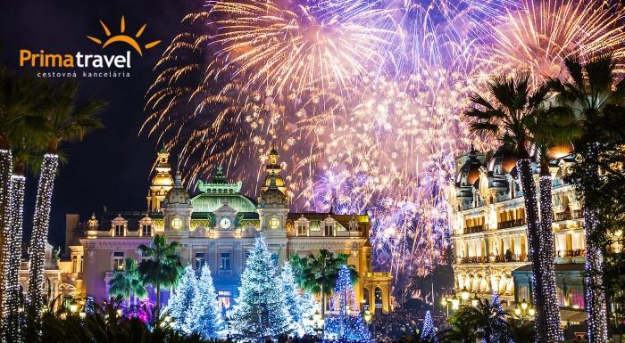 Monako počas silvestrovských osláv
