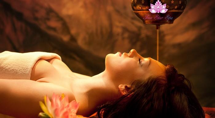 Uvoľňujúca ajurvédska masáž tváre a krku v kombinácii s reflexnou masážou chodidiel a krku vám dodá druhý dych. Profesionálny masár Five Star Spa vám uľaví od bolesti v pohodlí domova.