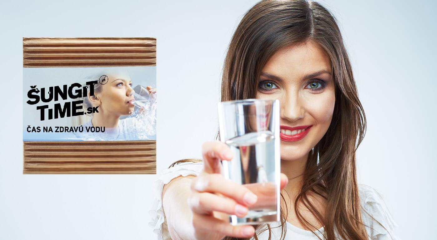 Prírodný filter vody Šungit Time až na 6 mesiacov alebo jemné mydlo pre zdravú pokožku