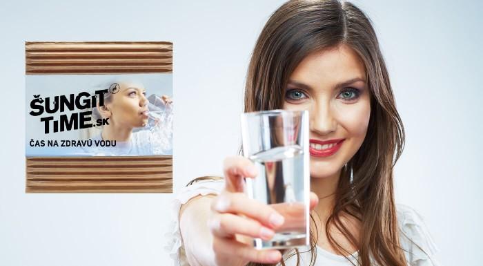 Prírodný filter na vodu alebo mydlo  Šungit Time