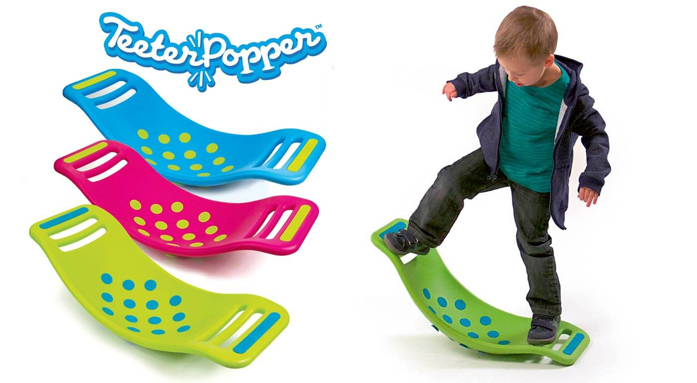 Zábavný Teeter Popper - balančná podložka pre deti od 3 rokov