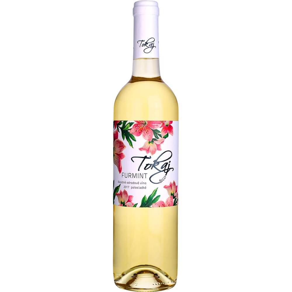 Víno Tokaj Furmint Flowers akostné polosladké 0,75 l