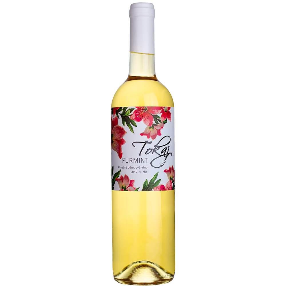 Víno Tokaj Furmint Flowers akostné suché 0,75 l
