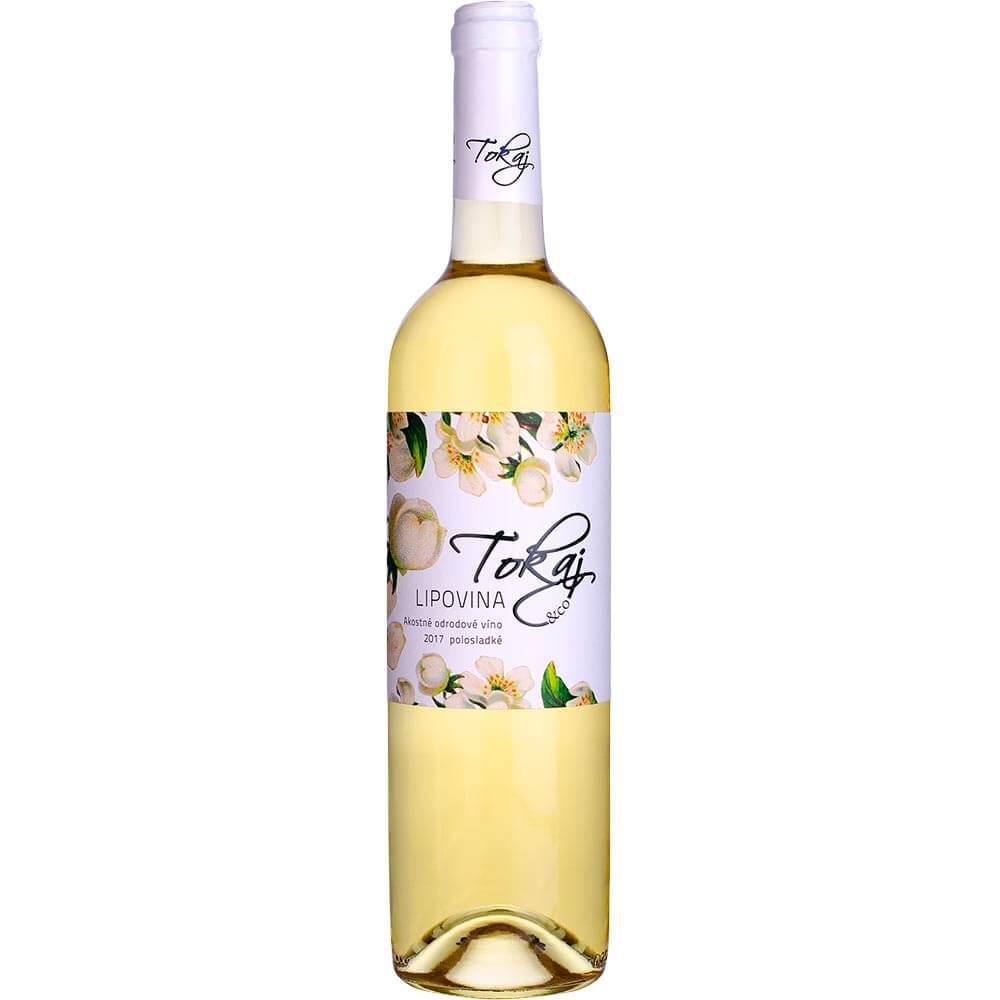 Víno Tokaj Lipovina Flowers akostné polosladké 0,75 l