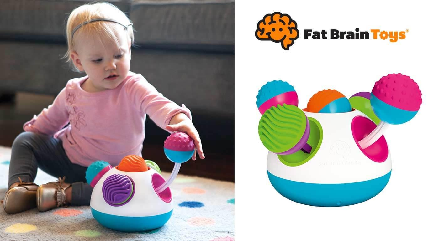 Klickity - senzorická hračka pre najmenších od 12 mesiacov