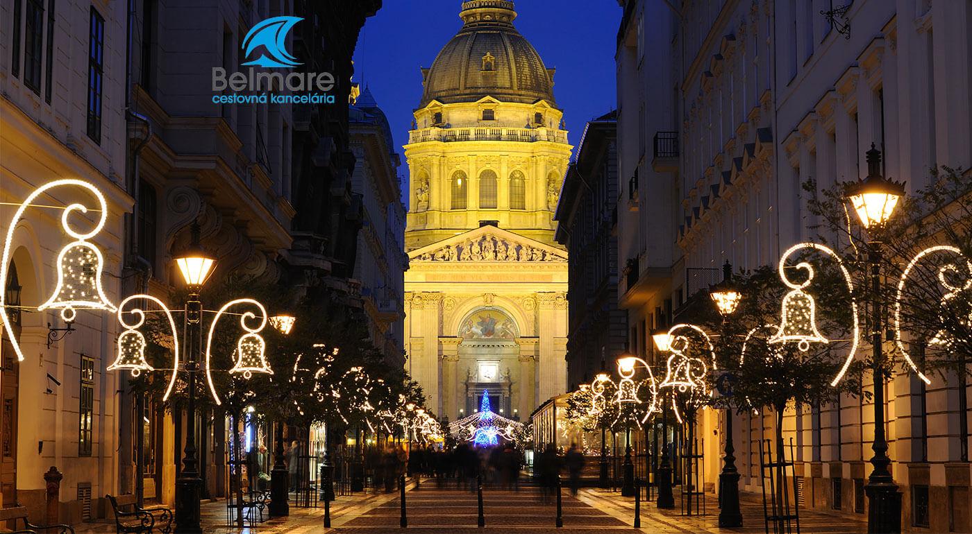 Adventná Budapešť a Tropikárium na 2-dňovom zájazde