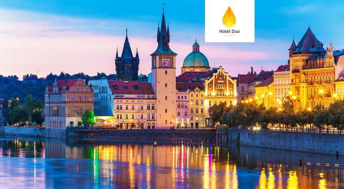Pražský Hotel Duo**** pre dvoch