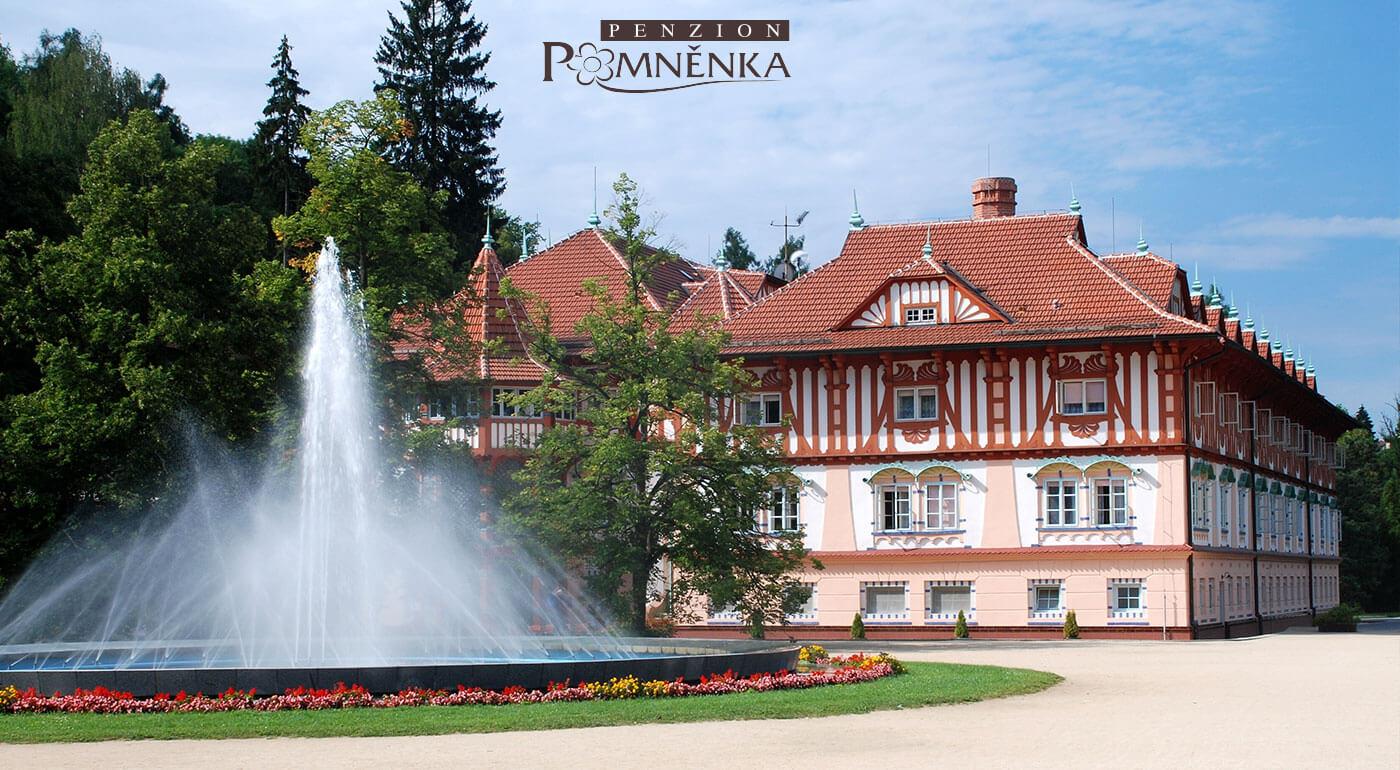 3-dňový pobyt v kúpeľoch Luhačovice s polpenziou a fľašou vína v Penzióne Pomněnka