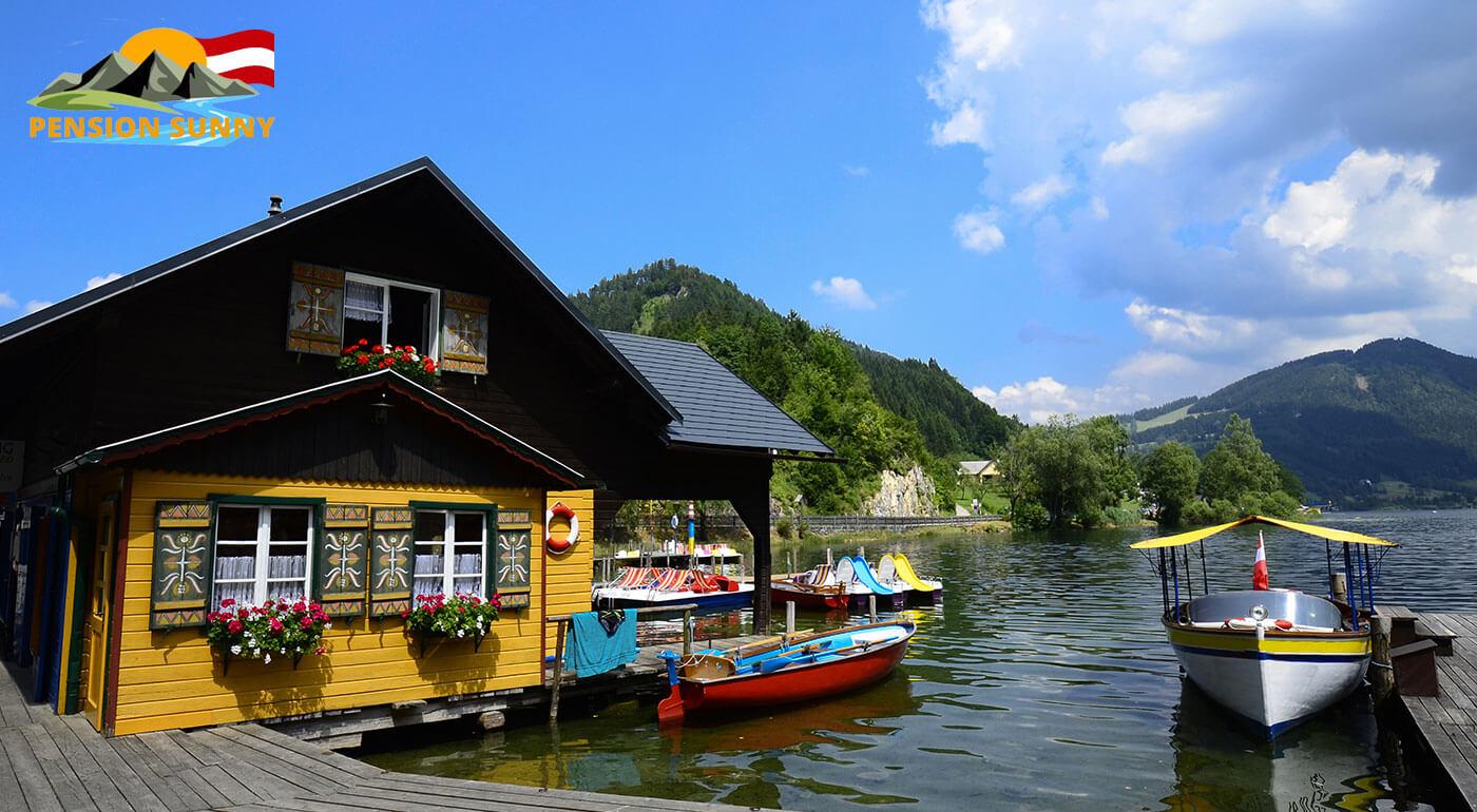 Rakúske Alpy: pobyt v českom Penzióne Sunny na 3-6 dní pre 2 osoby s raňajkami alebo polpenziou