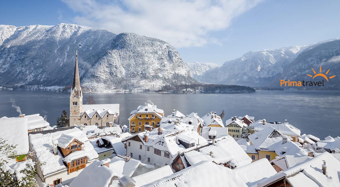 Predvianočný Salzburg, dedinka Hallstatt a jazero Wolfgangsee na 2-dňovom zájazde