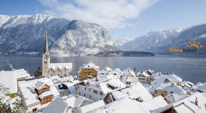 Adventný Salzburg a plavba po jazere Wolfgangsee
