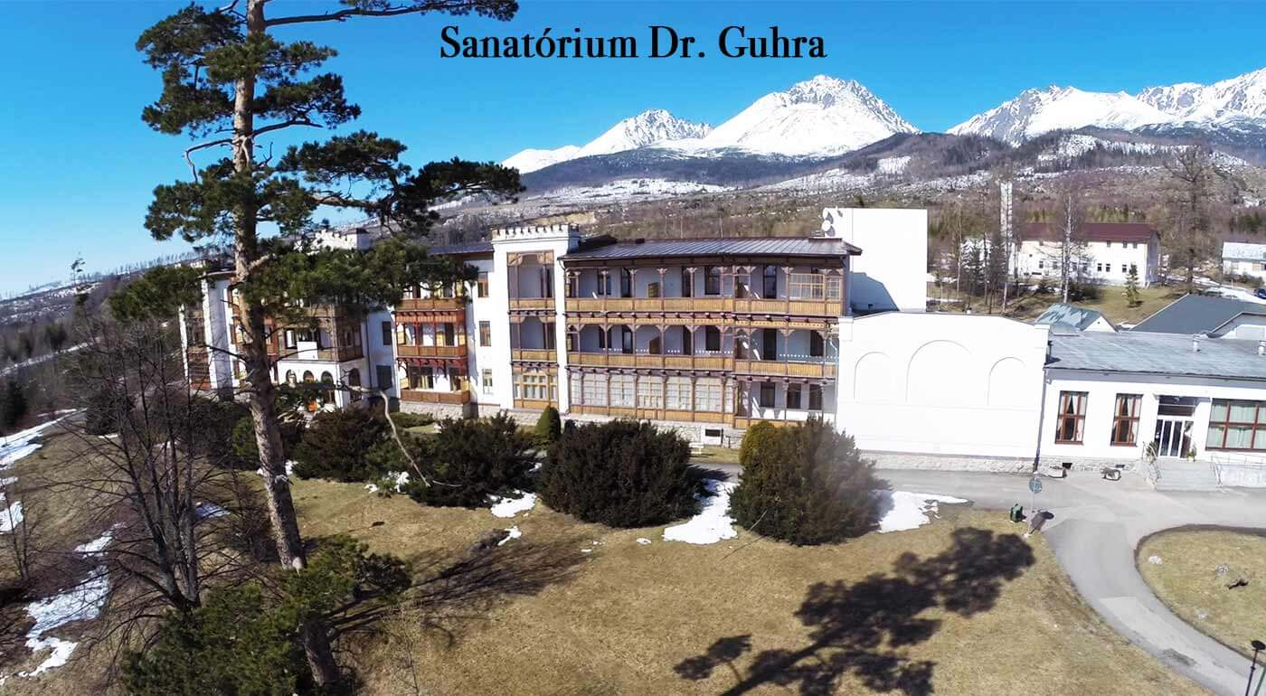 Vysoké Tatry: Ozdravný alebo regeneračný pobyt v Sanatóriu Dr. Guhra s plnou penziou a wellness v Tatranskej Polianke